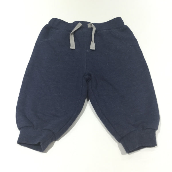 Navy Lightweight Tracksuit Bottoms - Boys 3-6 Months