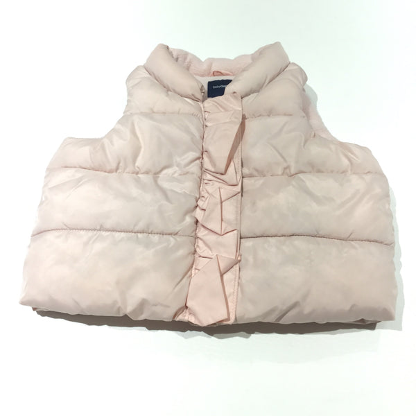 Pale Pink Gilet - Girls 6-12 Months