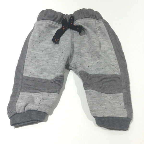 Grey Tracksuit Bottoms - Boys 0-3 Months