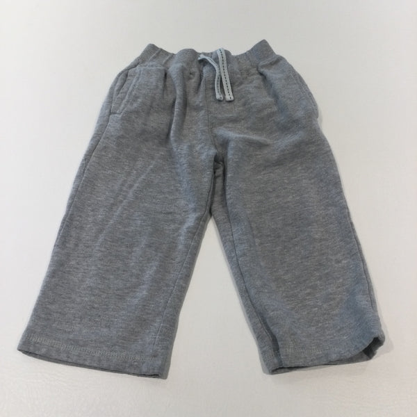 Grey Jersey Long Shorts - Boys 3-4 Years
