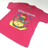 'Istanbul' Cat & Houses Pink T-Shirt - Girls 2 Years