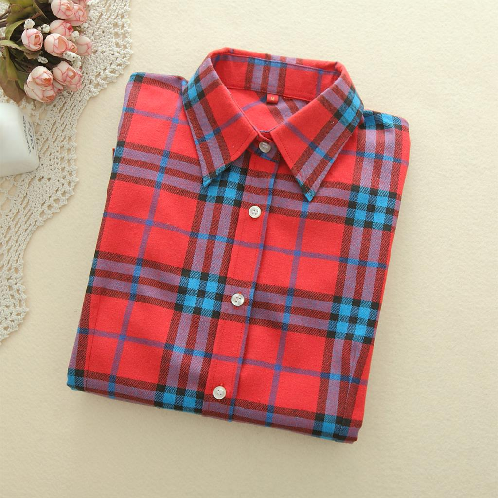 f0ed243161a Womens Plus Red And Black Plaid Shirt – EDGE Engineering and ...