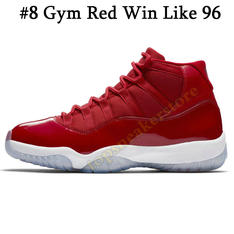 best cheap f563e b9f44 Mens 11s Basketball Shoes New Concord 45 Platinum Tint Space Jam Gym Red  Win Like 96 XI Designer Sneakers
