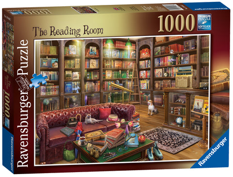 Ravensburger 1000-piece jigsaw - The Reading Room