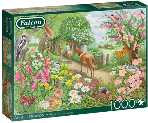 Falcon 1000-piece jigsaw - The Afternoon Hack