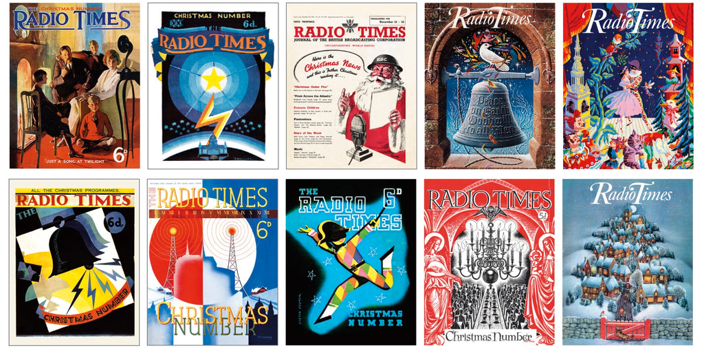 Radio Times Christmas Cards Bundle Pack A B Radio Times Shop