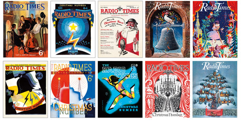 Radio Times Christmas Cards Bundle (Pack A & B)