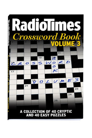 Radio Times Crossword Puzzle book Vol 3