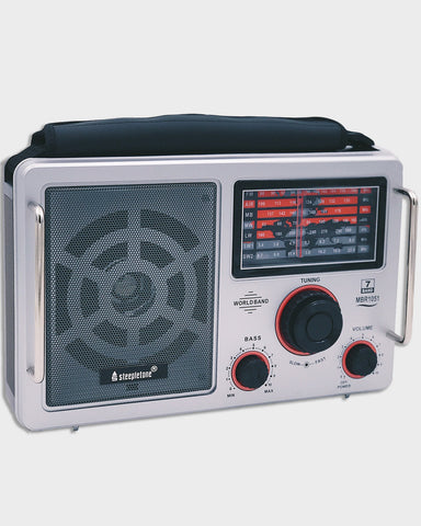 Steepletone Multiband Portable Radio World Receiver