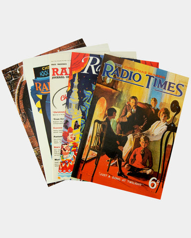 Radio Times Christmas Cards - Pack A