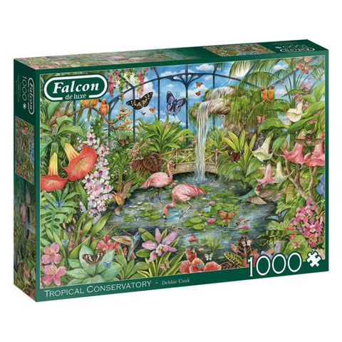 Falcon 1000-piece jigsaw - The Tropical Conservatory