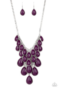 Shop Til You TEARDROP - Purple