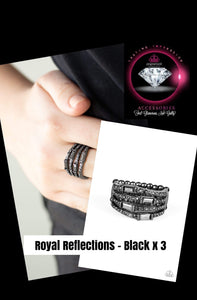 Royal Reflections - Black