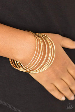 Bangle Babe - Gold