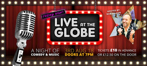 FRIDAY NIGHT AT THE GLOBE RETURNS | Friday 3rd August