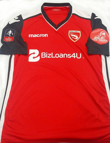 Players 2019 F.A. Cup shirts - MorecambeFC