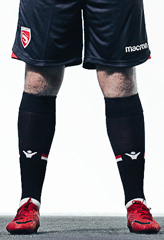18/19 Junior Replica Home Socks - MorecambeFC