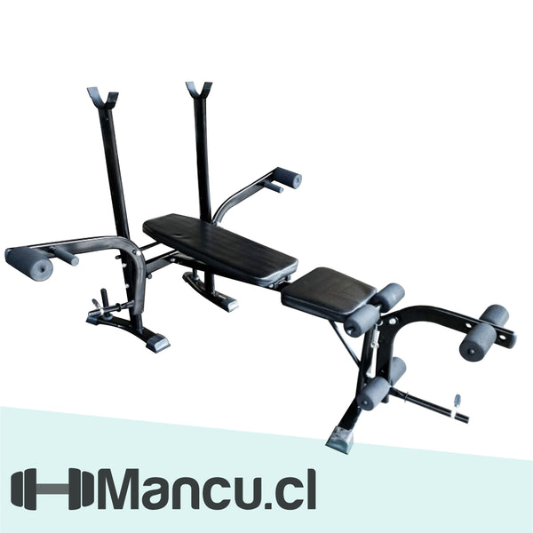 Press Banca Multi - Reclinable y Plegable
