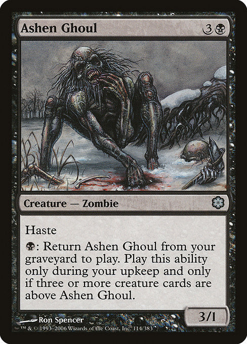 Ashen Ghoul [Coldsnap Theme Decks]  | My Pop Culture | New Zealand