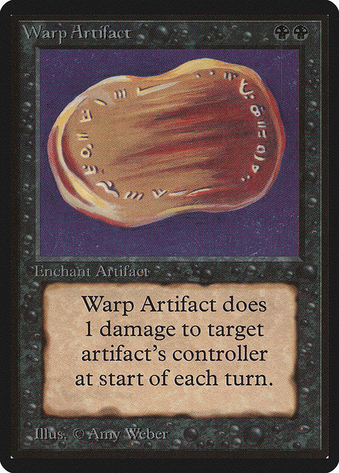 Warp Artifact [Limited Edition Beta] | Alvar & Hurriks
