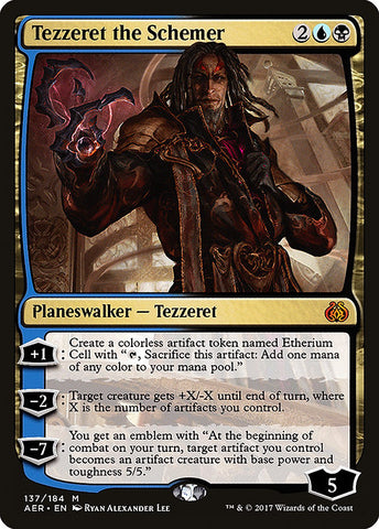 Tezzeret the Schemer [Aether Revolt]