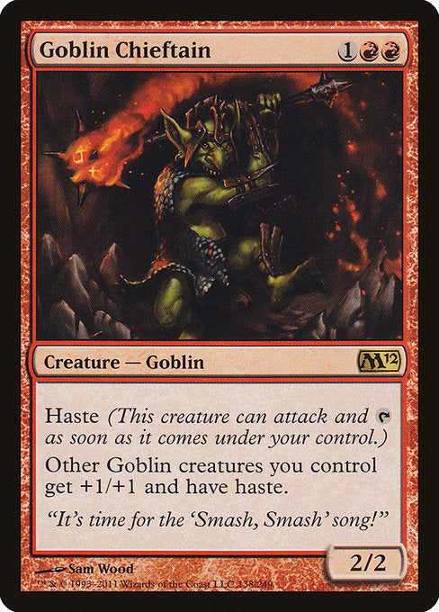 Goblin Chieftain [Magic 2012] | Alvar & Hurriks