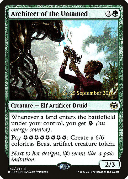 Architect of the Untamed [Kaladesh Promos]  | My Pop Culture | New Zealand