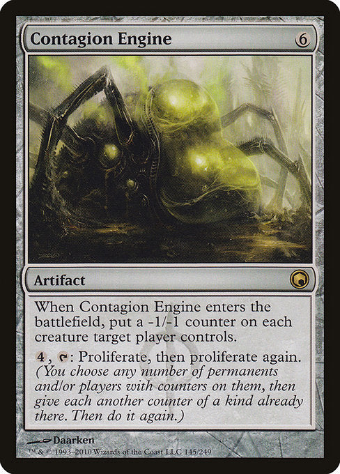 Contagion Engine [Scars of Mirrodin]  | My Pop Culture | New Zealand