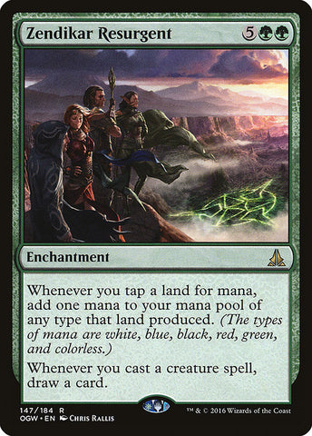 Zendikar Resurgent [Oath of the Gatewatch]