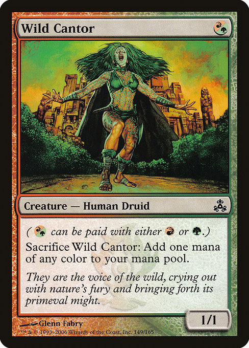 Wild Cantor [Guildpact] | Alvar & Hurriks
