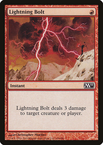 Lightning Bolt [Magic 2011]