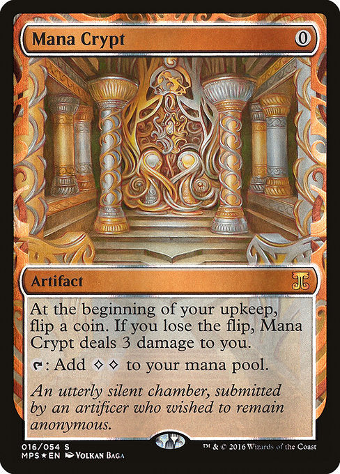 Mana Crypt [Kaladesh Inventions]  | My Pop Culture | New Zealand