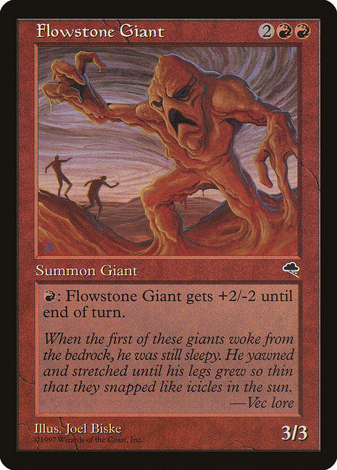 Flowstone Giant [Tempest]  | My Pop Culture | New Zealand