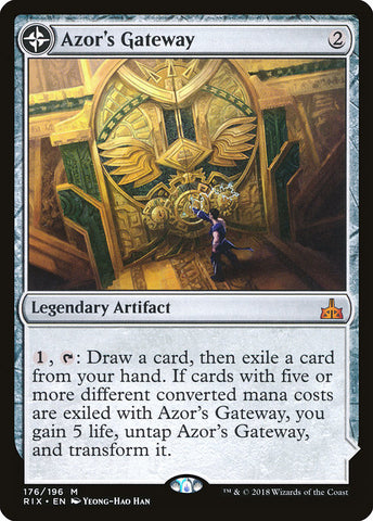 Azor's Gateway // Sanctum of the Sun [Rivals of Ixalan]