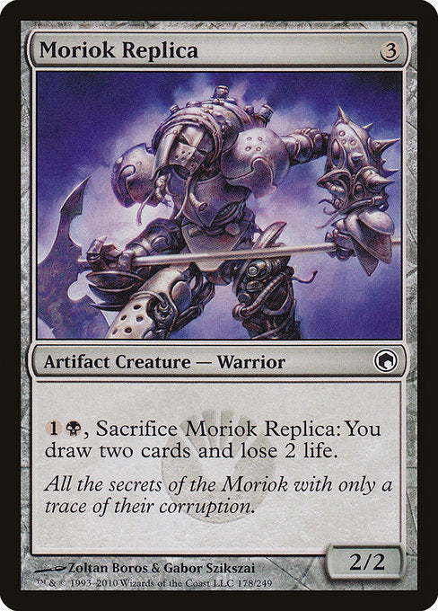Moriok Replica [Scars of Mirrodin] | Alvar & Hurriks