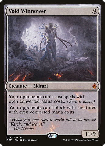 Void Winnower [Battle for Zendikar]