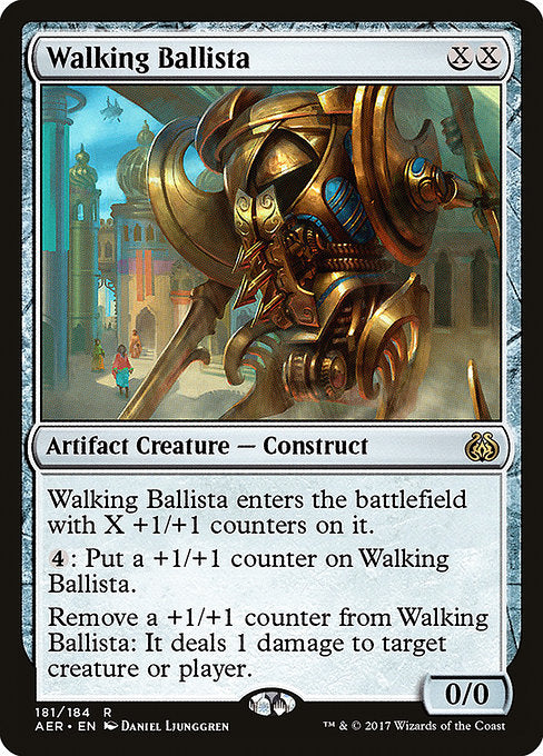 Walking Ballista [Aether Revolt] | Alvar & Hurriks