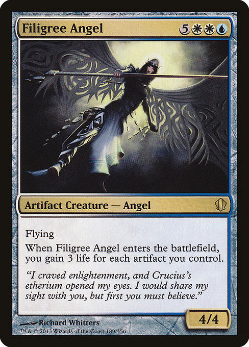 Filigree Angel [Commander 2013]  | My Pop Culture | New Zealand