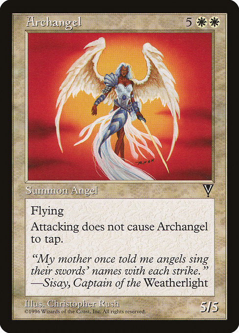 Archangel [Visions]  | My Pop Culture | New Zealand