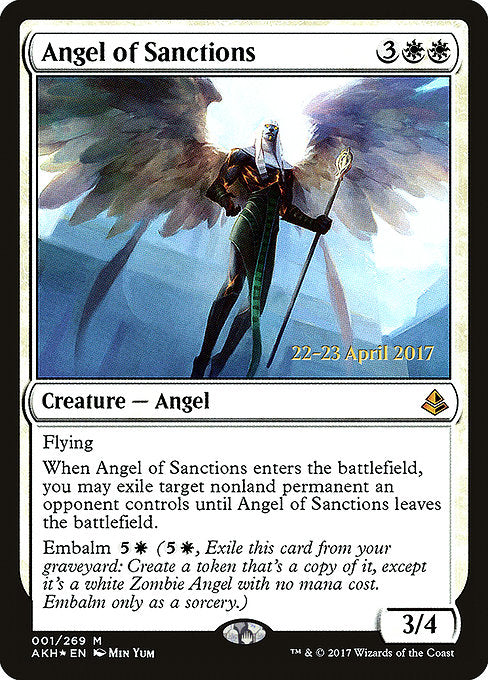 Angel of Sanctions [Amonkhet Promos]  | My Pop Culture | New Zealand