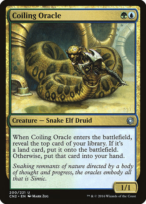 Coiling Oracle [Conspiracy: Take the Crown] | Alvar & Hurriks