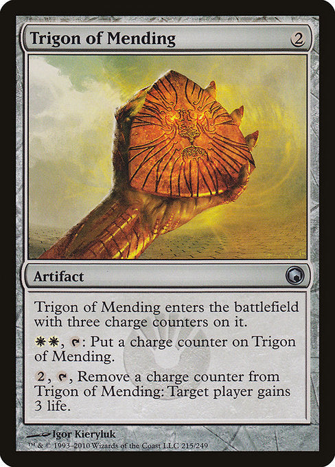 Trigon of Mending [Scars of Mirrodin] | Alvar & Hurriks
