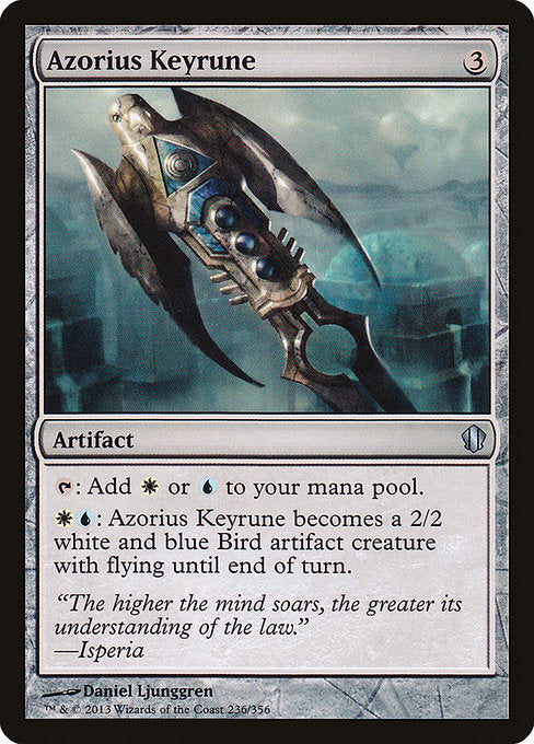 Azorius Keyrune [Commander 2013]  | My Pop Culture | New Zealand