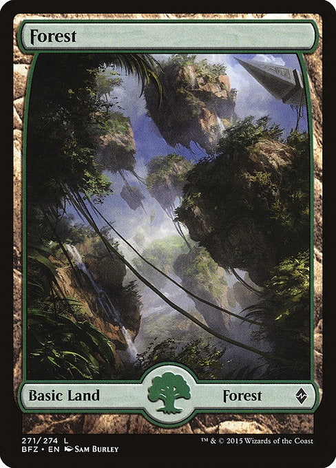 Forest [Battle for Zendikar]  | My Pop Culture | New Zealand