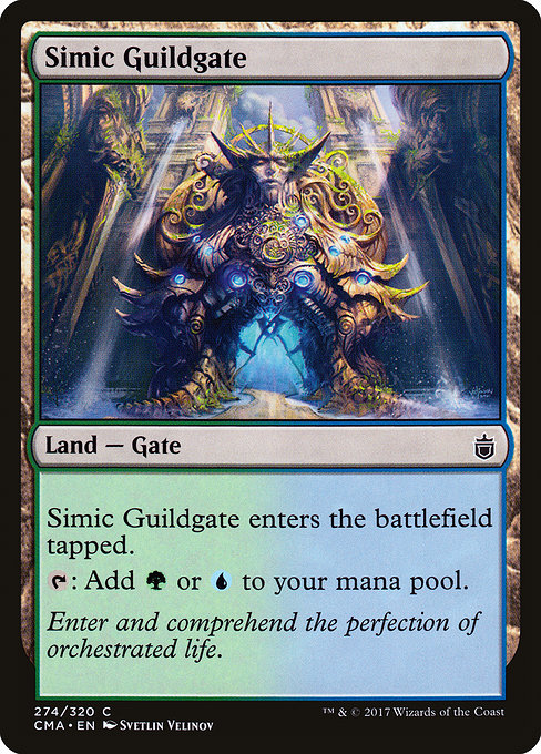 Simic Guildgate [Commander Anthology] | Alvar & Hurriks