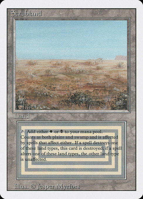 Scrubland [Revised Edition] | Alvar & Hurriks