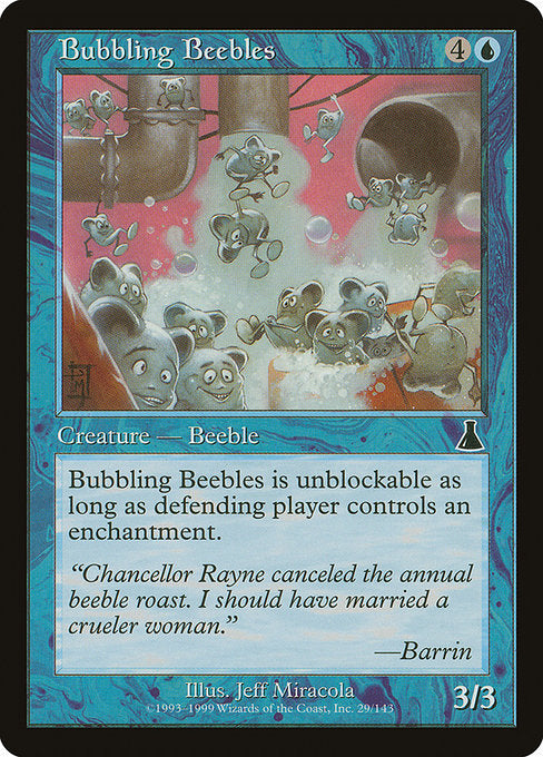 Bubbling Beebles [Urza's Destiny]  | My Pop Culture | New Zealand