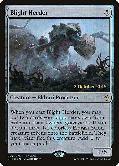 Blight Herder [Battle for Zendikar Promos]  | My Pop Culture | New Zealand