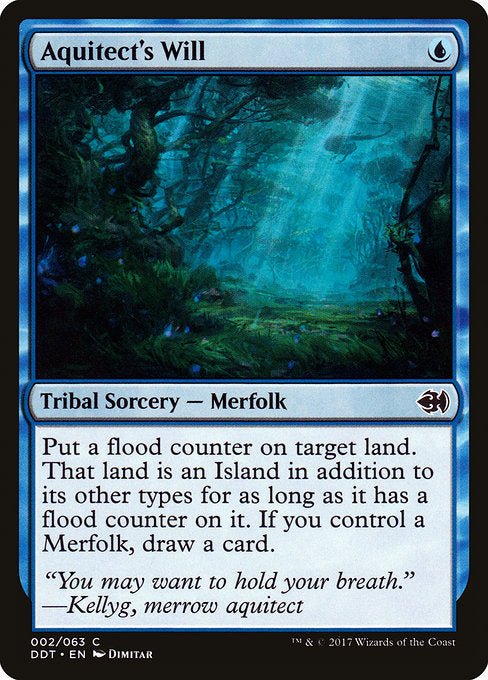 Aquitect's Will [Duel Decks: Merfolk vs. Goblins]  | My Pop Culture | New Zealand