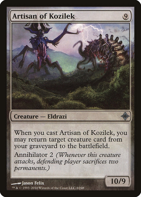 Artisan of Kozilek [Rise of the Eldrazi] | Alvar & Hurriks